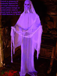 hanging halloween floating ghost prop purple skeleton in the www