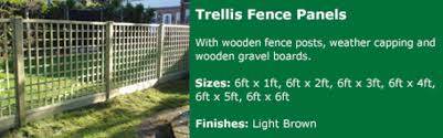 4 Ft Fence Panels With Trellis Garden Fence Panels