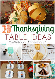 craftaholics anonymous 20 thanksgiving table ideas