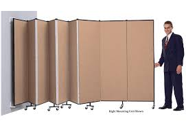 wall dividers wall mounted room dividers screenflex portable partitions