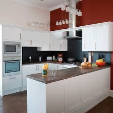 Kitchen Feature Wall Ideas Red Feature Color Wall Interior Design Ideas