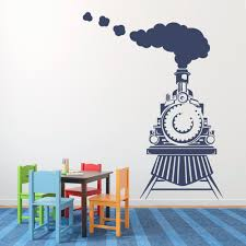 online get cheap train nursery decor aliexpress com alibaba group smoke on the train childrens wall art nursery decor wall stickers train theme boys kindergarten kids wall stickers child t170403