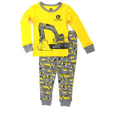 deere boys pajamas set