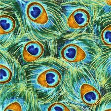 designer fabric green designer fabric peacock feathers gold embellishments