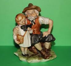 Home Interior Jesus Figurines Lefton Vintage Old Man With Figurine Made In Japan Gg6139
