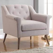 linen chair julian joseph manhattan accent chair linen accent