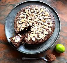 chocolate almond lime semolina cake susan eats london
