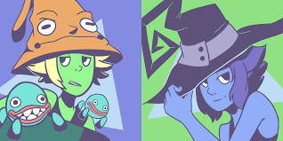 matching eruka peridot and blair lapis icons for halloween