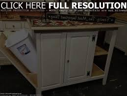 kitchen kitchen butcher block cart with trash bin fair island