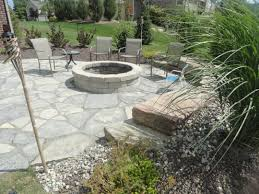 fire pit and new york blue flagstone fire pits pinterest