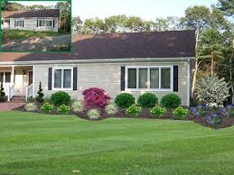 Simple Front Yard Landscaping Ideas Mesmerizing Simple Landscaping Ideas For Front Of House 30 For