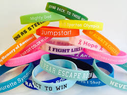 design silicone bracelet images Custom silicone wristbands order 100 get 100 free no minimum jpg