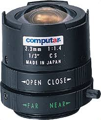 2 3mm cs mount lens computar t2314fics 1 3