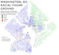 Race Map Washington Dc Race Map 76 National Geographic With Washington Dc