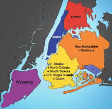 Map Of Hamptons New York by These Maps Show Just How Big Nyc Is Compared To Other Cities