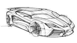 lamborghini huracan sketch lamborghini countach render gives the supercar a virtual reboot