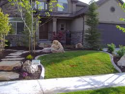 Landscaping Ideas Small Area Front Outdoor Inspiration Outstanding Small Inground Pools With