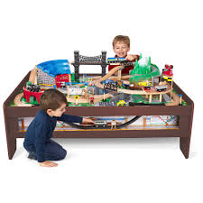 imaginarium train table 100 pieces imaginarium metro line 100 piece train table toys r us canada
