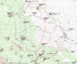 Map Of Bend Oregon by Arnold Ice Cave Mountain Biking And Hiking Trail 3963