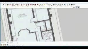 make a blueprint sketchup lesson 9 make a model from a blueprint youtube