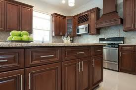 Medium Brown Kitchen Cabinets PreAssembled  Ready To Assemble - Medium brown kitchen cabinets