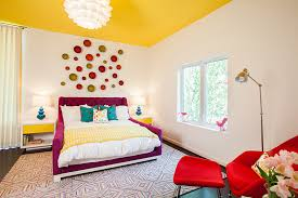 bright colour interior design sleek bright girl s bedroom inspiration by laura u