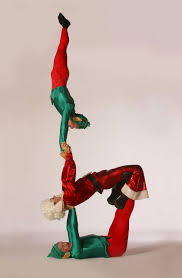 festive acrobatic show uk christmas themed entertainment