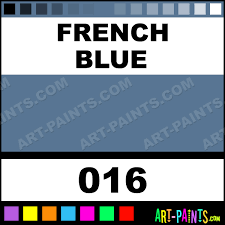 french blue artist gouache paints 016 french blue paint