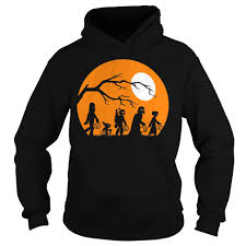 star wars trickortreat halloween silhouette graphic shirt ladies tee