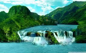 waterfalls images Tropical waterfall 4k hd desktop wallpaper for 4k ultra hd tv jpg