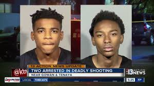 news today teens arrested in northwest las vegas shooting that