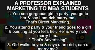Mba Meme - a professor explained marketing to mba students weknowmemes