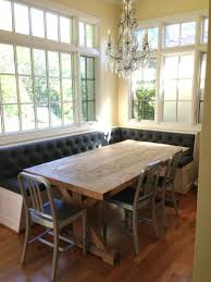 Kitchen Nook Table Ideas Kitchen Enchanting Oval Breakfast Nook Table With Exquisite