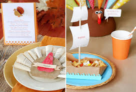 thanksgiving place cards and table ideas