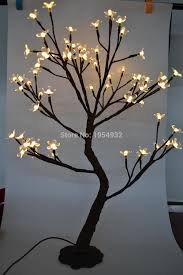 64 led cherry blossom tree light in 70cm height blossom