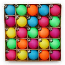 fluorescent ornaments search decor