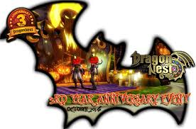 halloween logo png dragon nest celebrate dragon nest u0027s 3rd year anniversary
