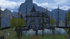 build with haunted house simsvip