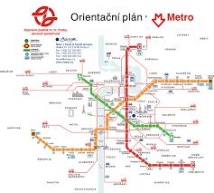Metro Viena Map by Prague Transport Map