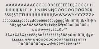 accents u0026 accented characters fonts com fonts com