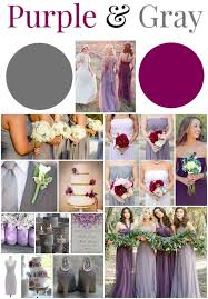 april wedding colors best 25 purple gray weddings ideas on purple wedding