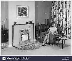 gas fire 1960s stock photos u0026 gas fire 1960s stock images alamy