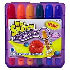 mr sketch scented twistable gel crayons 6ct multicolor target