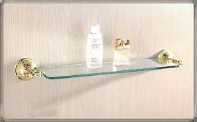 Bathroom Glass Shelves With Towel Bar Decorative Glass Shelves Bathroom Decorative Bathroom Bathroom