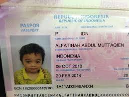 buat paspor online bayi cara pembuatan paspor anak dan bayi secara online wiedy yang