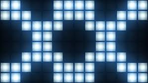 strobe light light bulb strobe lights flashing background vj loop blue lights board wall of
