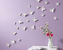 Purple Butterfly Decorations Butterfly Decoration Etsy