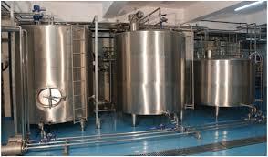 design of milk storage tank zeuzer india