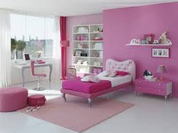 jolly girls bedroom in pink bedroom decoration using light