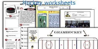 english teaching worksheets hockey